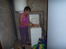 La lessive (des couvertures)